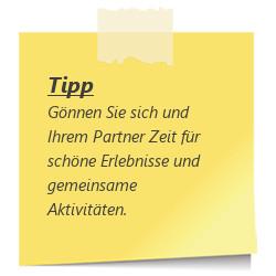 Tipp: Zeit mit dem Partner