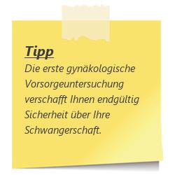 Tipp gynaekolkogische Untersuchung